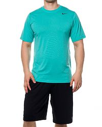 Legend Poly Tee Turquoise