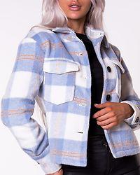 Pernille Short Check Jacket Birch