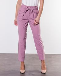 Nicole Paperbag Ankel Pants Misty Rose