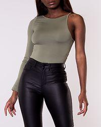 One Sleeve Bodysuit Khaki
