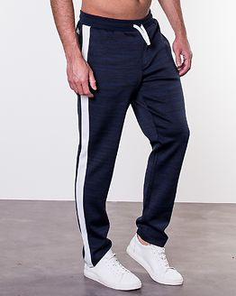 Nolan Sweat Pants Blue Nights/Melange