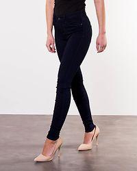 Rain Skinny Jeans Dark Blue Denim