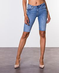 Khloe Denim Bermuda Shorts Light Blue Denim