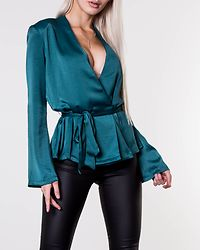 Grace Belted Top Bayberry
