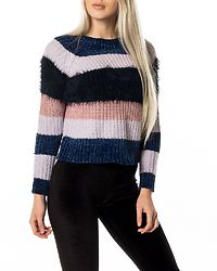 Joelle Stripe Pullover Blueprint