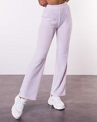 Eva Long Wide Pant Lavender Fog