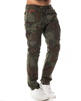 Ripstop Parachute Pant Patched Forest Camo