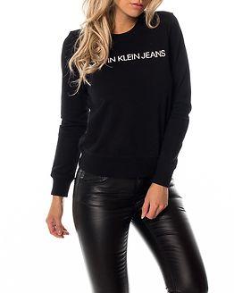Institutional Logo Sweatshirt Black