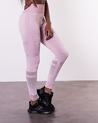 Seamless Tights Camo Dusty Pink