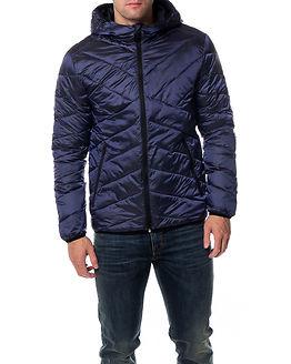 Metal Jacket Navy Blazer
