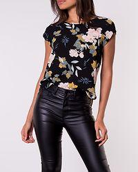 Vic Top Black/Faye Flower