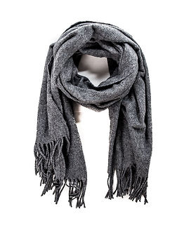 Mary Wool Scarf Light Grey Melange