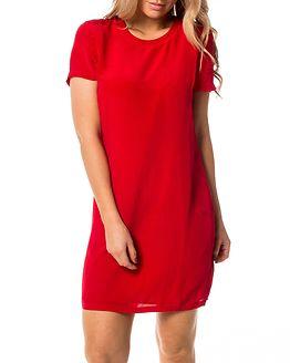 Domenica Tee Dress Tango Red