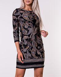 Blenda Dress Black/Paisley