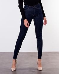 Amy Push Up Jeans Dark Denim