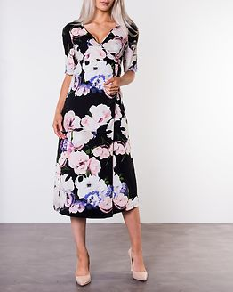 Adaline Occasion Dress Black/Patterned