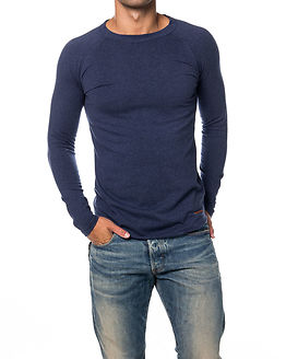 Light Melange Sweatshirt Total Eclipse