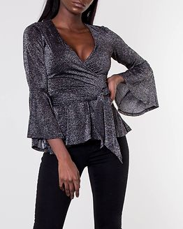 Avery Sparkling Top Black/Silver