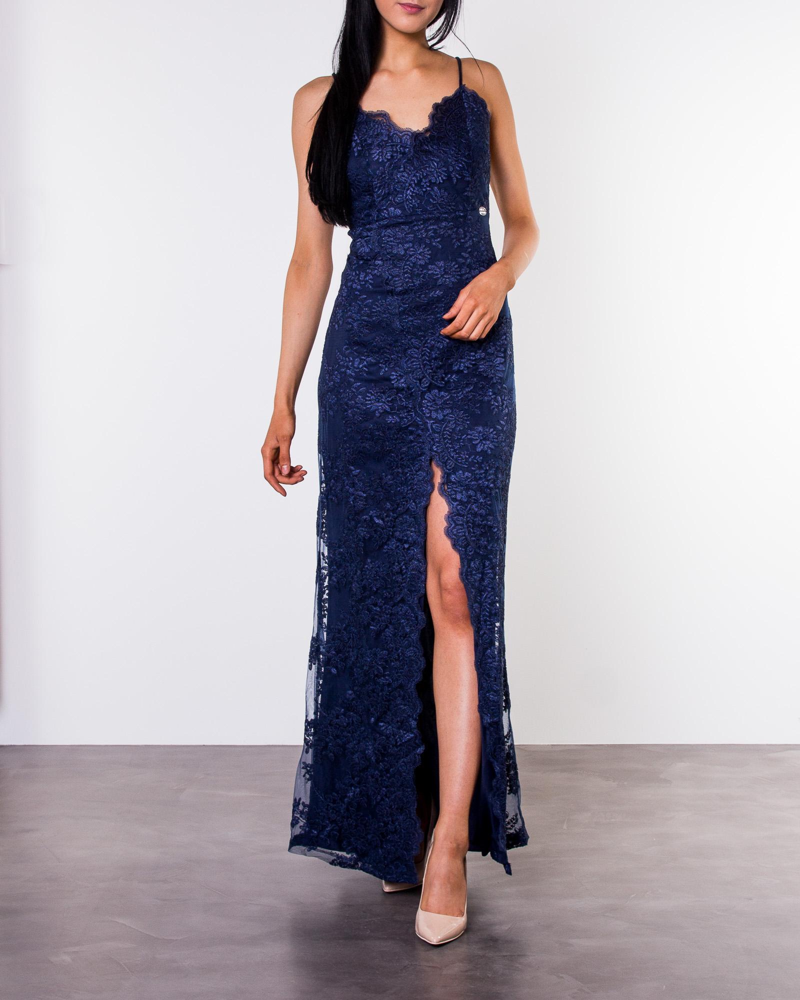 551c9b8abaed Irmeline Gown Dark Blue