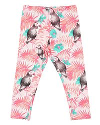 Leggings Bird Pink Salt