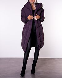 Tally Long Jacket Plum Perfect