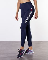 Highwaist Legging Logo Sport Navy