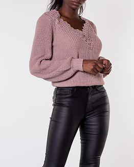 Wendy Lace Sweater Dusty Pink
