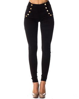 Adina Highwaist Jeans Black