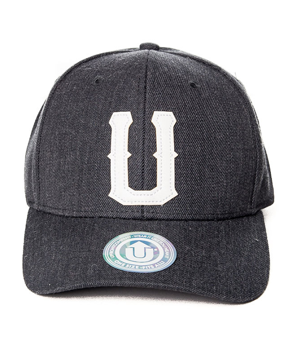 UNITED 2 Baseball Snapback Dark Grey 6b12c996ac