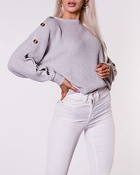 Bexley Knitted Sweater Light Grey