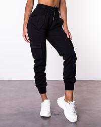 Palma High Waist Pants Black