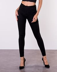 Nikki Jegging High Black Denim