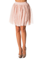 Tulle Short Skirt Peach Whip