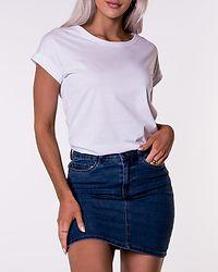 Hot Seven Short Skirt Medium Blue Denim
