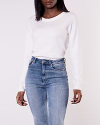 Ril O-Neck Knit White Alyssum