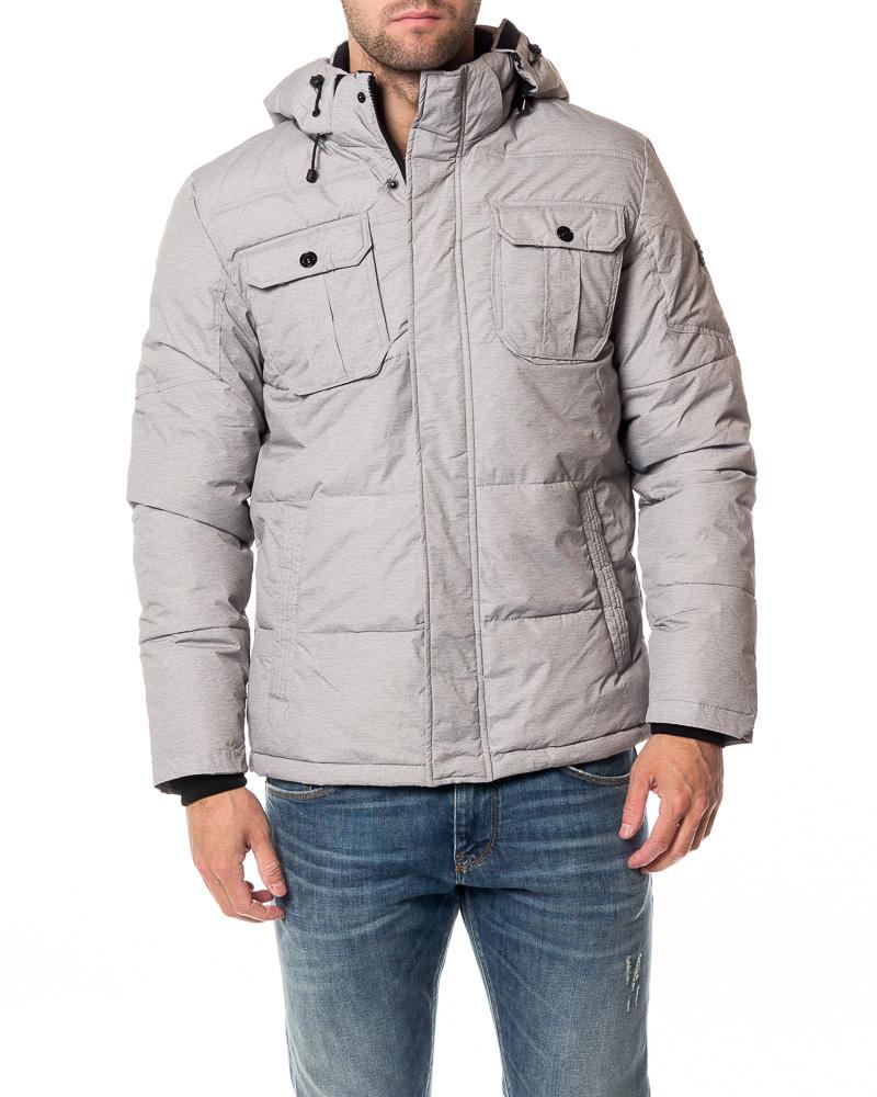 reputable site 6e146 432b9 Will Jacket Light Grey Melange