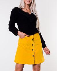 Sunny Short Corduroy Skirt Golden Rod
