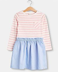 Dress Pink Stripes/Blue