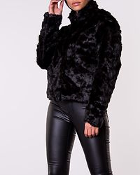 Viva Fur Jacket Black
