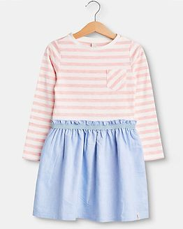 Dress Pink Stripes/Blue