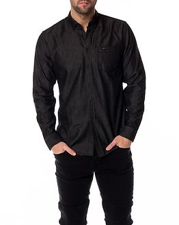 Archipelago Shirt Washed Black