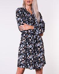 Sunita Shirt Dress Black/Flower
