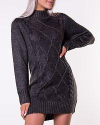 Arabella Sweater Dress Grey Melange