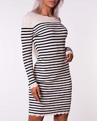 Gabbi Knit Dress Birch/Navy Blazer