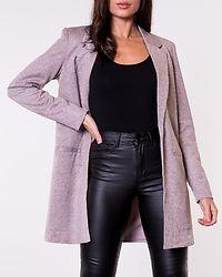 Janey Long Blazer Sepia Rose/Melange