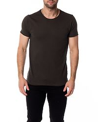 Fresher Roll Neck T-Shirt Stone