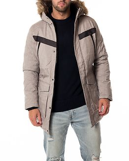 Earth Parka Light Grey Melange