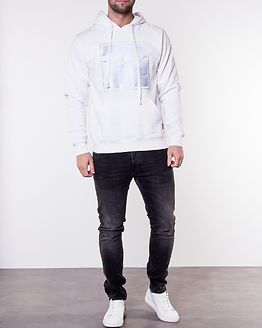 Ice Reflective Hoodie White