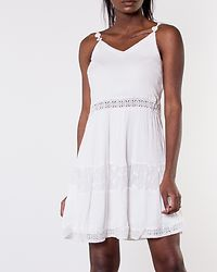 Karmen Anne Short Dress Cloud Dancer