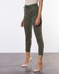 Mindy Cropped String Pants Ivy Green